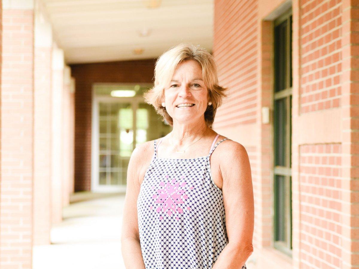 "Linda Hollingsworth, AKA ""Coach Happy"""